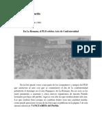 En La Romana, PLD Celebra Acto de Confraternidad