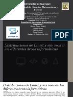 Proyecto de linux y dus distribuciones