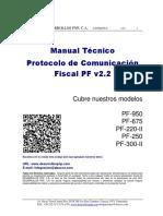 Manual Técnico Protocolo de Comunicación Fiscal PF v2.2