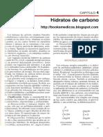 Capítulo 4 - Hidratos de Carbono