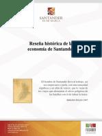 Reseña histórico-económica de Santander (2014). Por