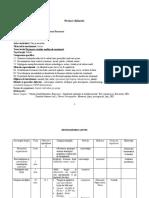 Proiect State Medievale Românești Cl Ix