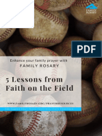 5 lessons from faith on the field