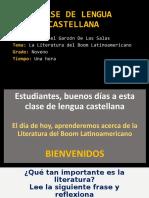 CLASE LITERATURA DEL BOOM LATINOAMERICANO OK.ppt
