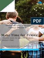 make time for prayer