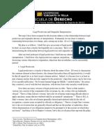 Alexander - Legal Positivism and Originalist Interpretation (2015)