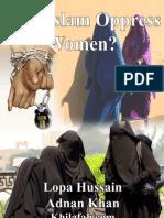 Does Islam Oppress Women
