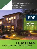 Lumien Lighting Catalog 2018