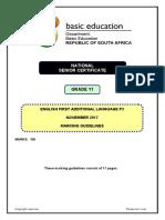 English FAL P3 Grade 11 Nov 2017 Memo.pdf