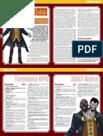 Chefe de Fase - Don Draconne (TRPG-3D&T)
