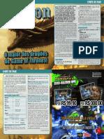 Chefe de Fase - Drogon (3D&T-TRPG-GdTRPG)