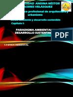 Paradigma Ambiental y Desarrollo Sostenible