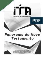 Panorama Do Novo Testamento - Aluno Ita 2018 Original