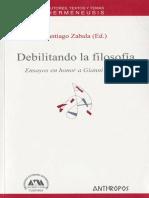 VV.AA. - Debelitando la filosofía.pdf