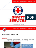 1. Introduction to First Aid