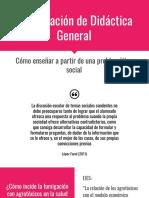 Presentación de Didáctica General