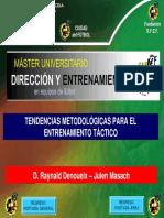 Tendencias Metodologicas Para El Modelo Tact Raynald Denoueix-julen Masach