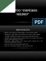 Egipto Medio Diapositiva