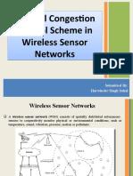 A Novel Congestion Control Scheme in Wireless Sensor Networks