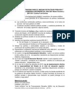 Cuestiones Orientadoras Para El Analisis de Politicas Publicas y Educativas Kirchneristas