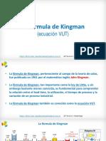 Fórmula de Kingman