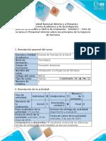 Guía de Actividades y Rúbrica de Evaluación-Unidad 2 – Ciclo de La Tarea 2- Presentar Informe Sobre Los Principios de La Regencia de Farmacia