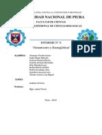 informe Hematocrito Hemoglobina
