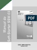Manuala Do Usuário SSW03 Ver 4 XX ServiceDrive 19 3012 6360