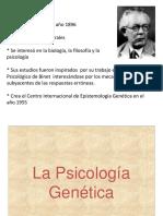 Clase 11 La Psicología  Genética.pptx