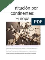 Prostitución Por Continentes-Europa