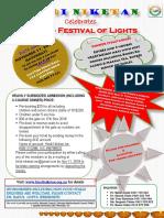 Diwali 2018 Flyer
