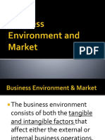 Business Environment & Market