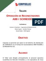 Presentación Taller Reconectadores