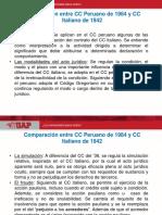 Comparacion Entre El Cc Peruano y Cc Italiano 2