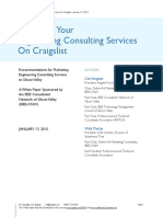 Marketing Your Engineering Consulting Services on Craigslist