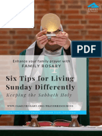 6tips for living sunday differently