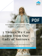3 things we can learn from our lady of sorrows