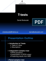 T Tests D.boduszek