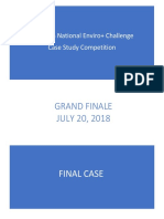 3rd EWB Case Study Final Round