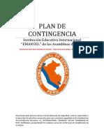 Plan de Seguridad Institucion Educativa Pamerbgrrt