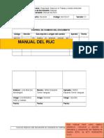 MA-SS-01 MANUAL RUC