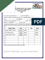 Acta Orga. Consejo Educativo u.e. Alto San Lorenzo 2018