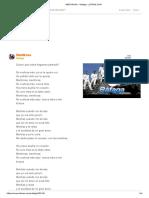 Mentirosa - Rafaga - Letras.com