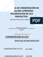 Uso y Conservación de Gallinas Autóctonas - Dra. Esperanza Camacho Vallejo
