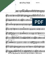 trompeta 2  Si Una Vez 007 Trumpet in Bb 2
