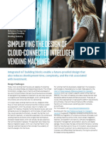 Simplifying Design of Cloud Connected Intelligent Vending Machines Brief