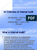 Presentation an Overview of Internal Audit