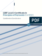Certpay Qualification Specification