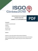 Consenso FASGO 2018 Rotura Prematura de Membranas