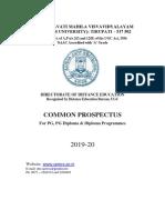 PG Prospectus 19-20